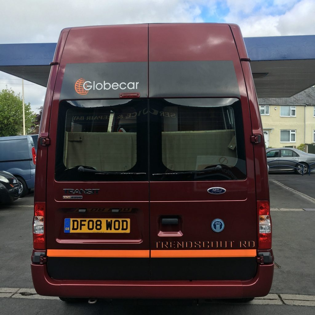 15 Passenger Ford Transit High Top: Ford Transit 2.2 TDCi Motor Home