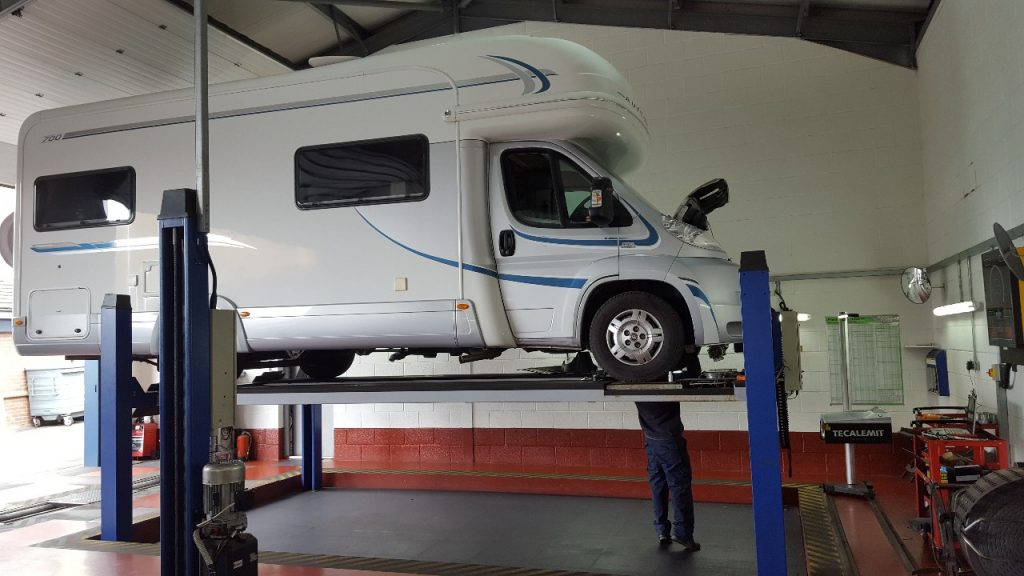 Servicing For Motorhomes and large vehicles